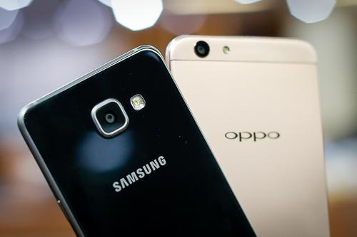 Đọ camera giữa Galaxy A5 2016 và Oppo F1s