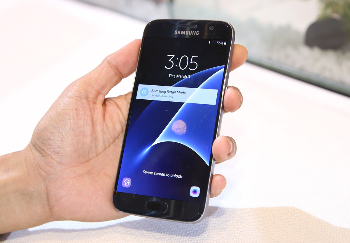 Galaxy S7 xuất xứ từ Hàn Quốc