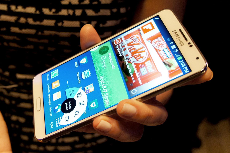 Vỏ Galaxy Note 3 còn nguyên và mới