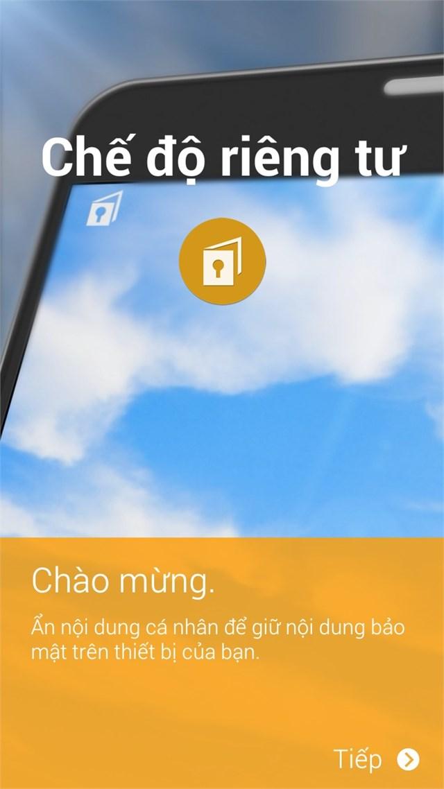 Chế độ riêng tư trên Galaxy A5