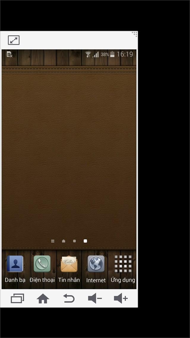 Chế độ thu nhỏ màn hình trên Galaxy A5
