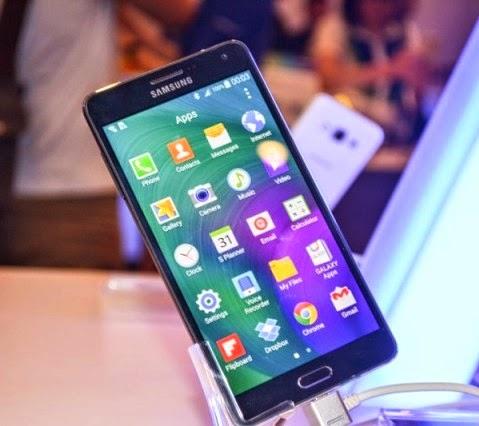 Các ứng dụng của Samsung Galaxy A7